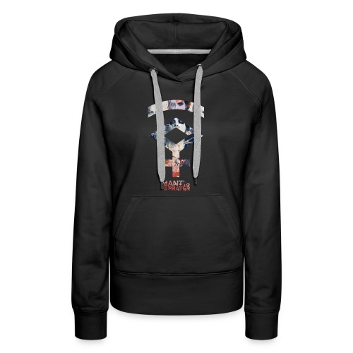 Mantis and the Prayer- Symbol Design - Women's Premium Hoodie