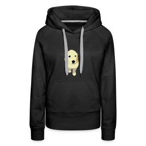 Golden Retriever puppy - Women's Premium Hoodie