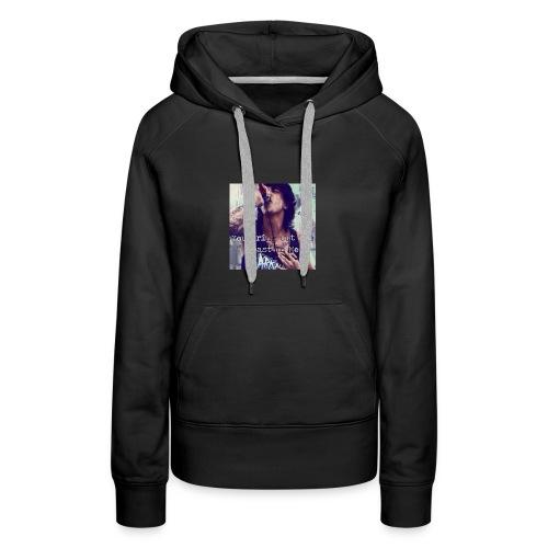 kellin quinn quote hoodie - Women's Premium Hoodie
