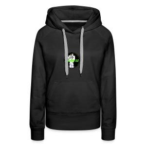 GamerBoy' s clothes - Women's Premium Hoodie