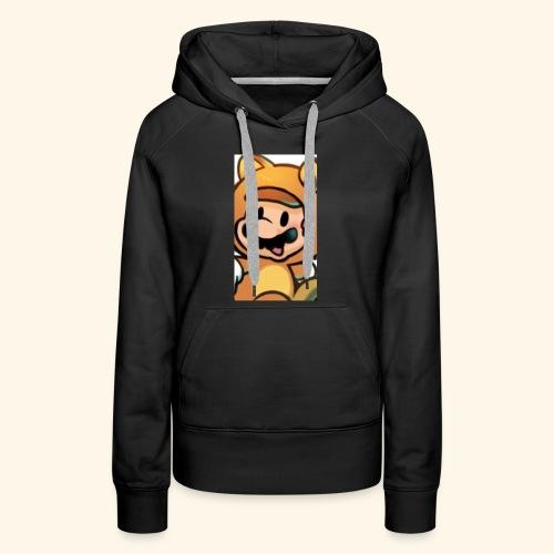 Time for Mario - Women's Premium Hoodie