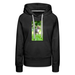 Squirrels don't play games - Women's Premium Hoodie