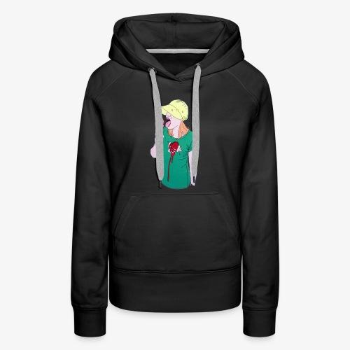 Berlin Girl - Women's Premium Hoodie