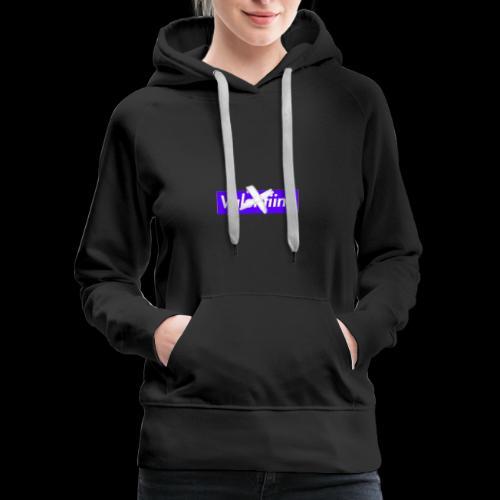 no valentiine official logo - Women's Premium Hoodie