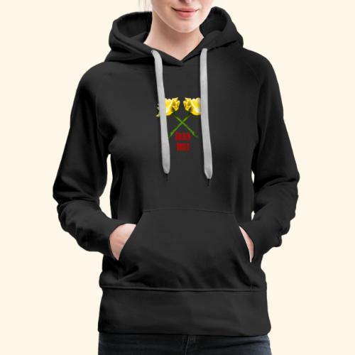 Golden Roses Logo Collection - Women's Premium Hoodie