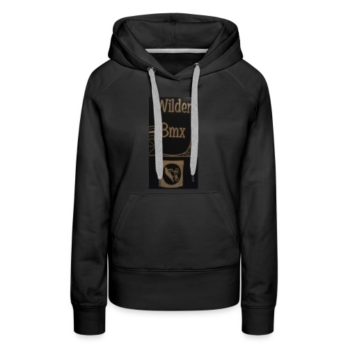 Wilder Bmx logo apparel - Women's Premium Hoodie