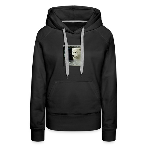 Wolf are just awesome - Women's Premium Hoodie