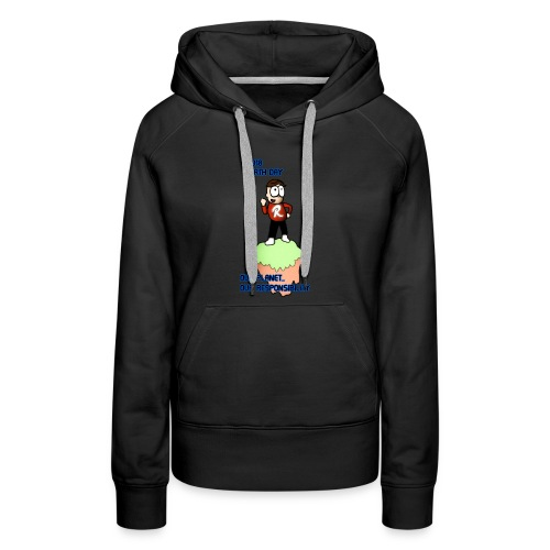 Earth day R3KT #ProtectThePlanet - Women's Premium Hoodie