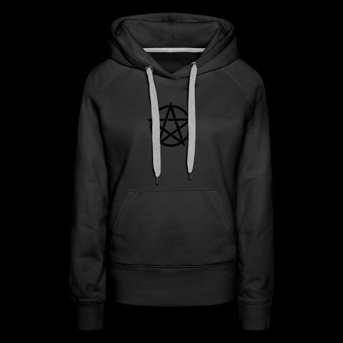 Witches Brew Ejuice Pentagram - Women's Premium Hoodie
