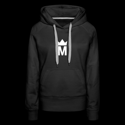 White Majesty Logo - Women's Premium Hoodie