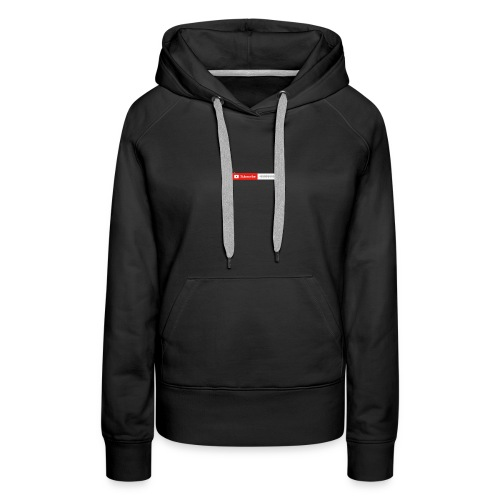 The state of my channel - Women's Premium Hoodie