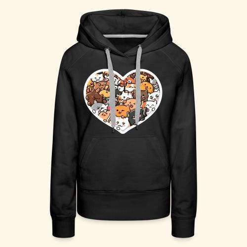 Cute Cats - Women's Premium Hoodie