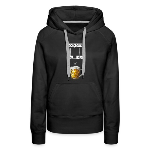 Problem Solving With Beer - Women's Premium Hoodie