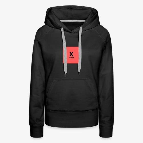 X Team 'Red' - Women's Premium Hoodie