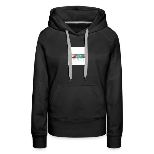 melting NXIL HEXD logo shirt !!!! 🔥⚡️ - Women's Premium Hoodie