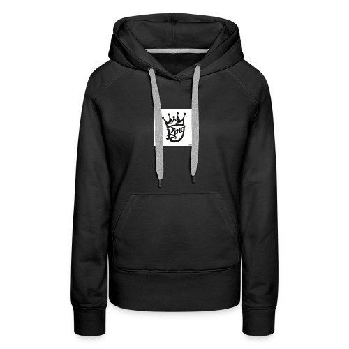 king royal logo - Women's Premium Hoodie