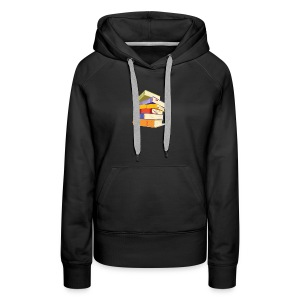 In trading you have to study or perish - Women's Premium Hoodie
