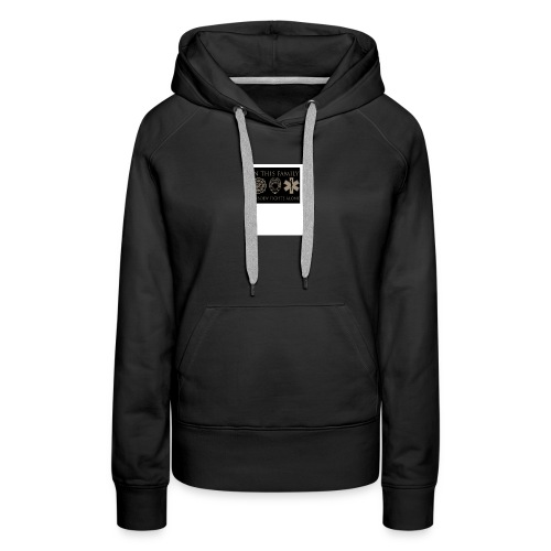 in this family nobody fights alone merchandise - Women's Premium Hoodie