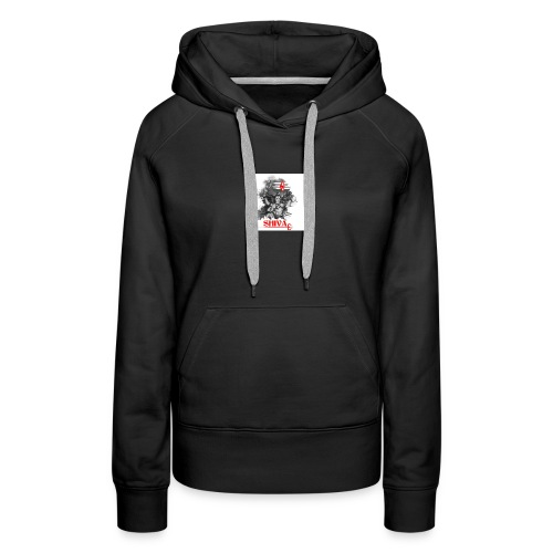 lord shiva indian god - Women's Premium Hoodie