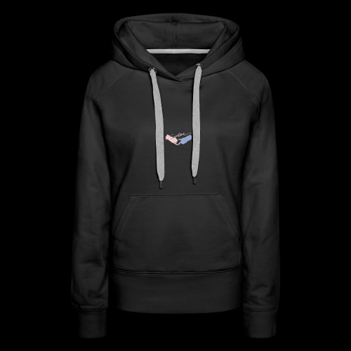 Black T-Shirt - Seventeen - Molleton à capuche Premium pour femmes