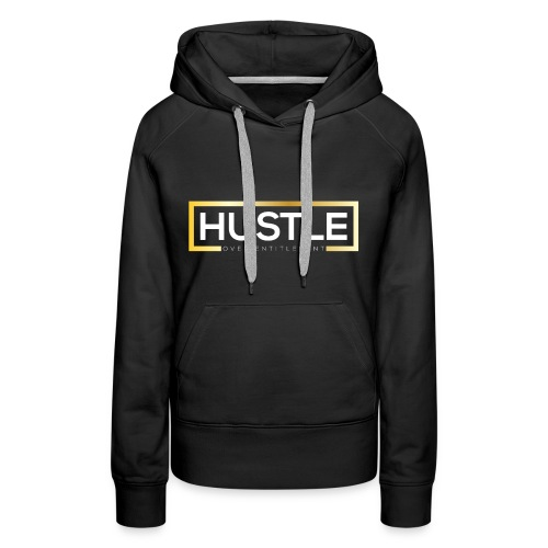 Gold and white - Women's Premium Hoodie