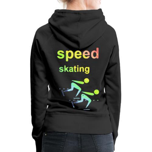 speed skating Winter Games 2reborn - Women's Premium Hoodie