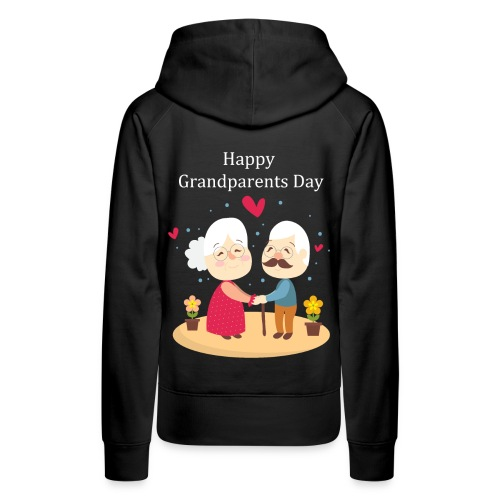 Awesome Gift for Funny Grandparents Day T-shirt - Women's Premium Hoodie