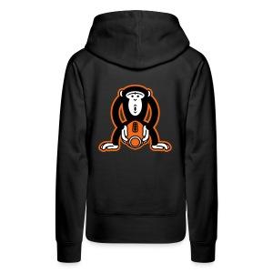 Monkey-Football - Women's Premium Hoodie