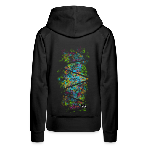 Colorful lines and circles - Women's Premium Hoodie