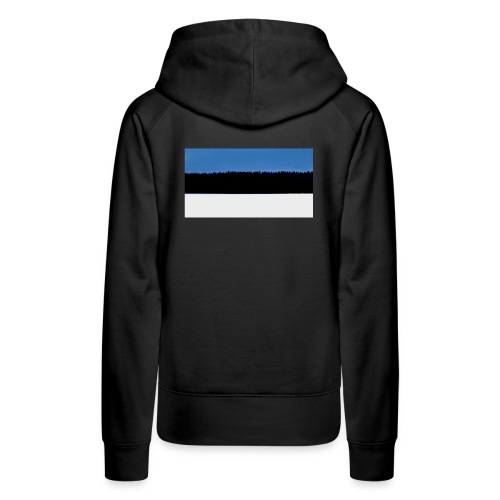 Estonian Forest Flag - Women's Premium Hoodie