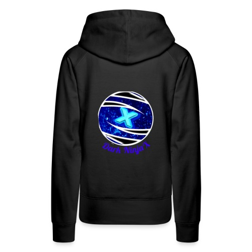 Dark NinjaX clothing logo - Women's Premium Hoodie