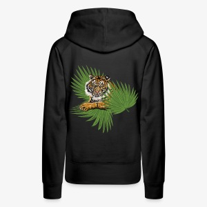 Relaxed Tiger - Women's Premium Hoodie