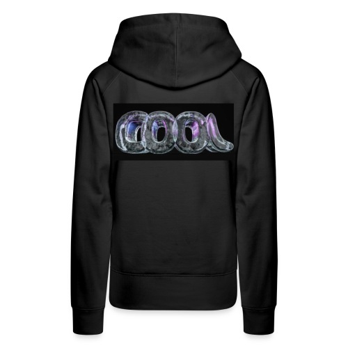 Black Cool Hoodie - Women's Premium Hoodie