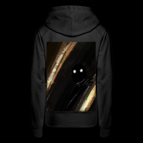 shadow monster - Women's Premium Hoodie