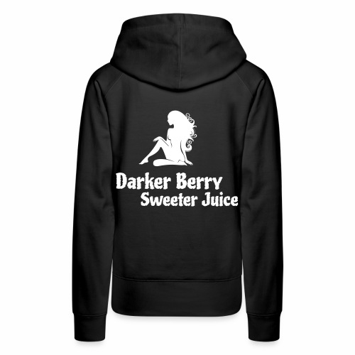 Darker Berry Sexy V - Women's Premium Hoodie