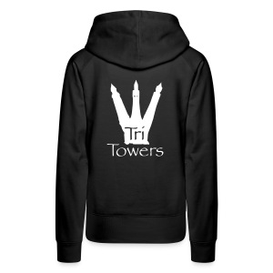 Official TriTowers Logo - Women's Premium Hoodie