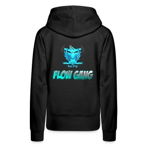 Flow Gang With So Fly Official Logo - Women's Premium Hoodie