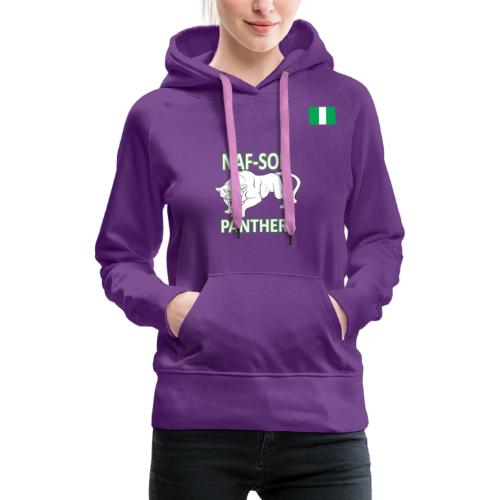 Nigerian Air Force Special Force Panthers - Women's Premium Hoodie