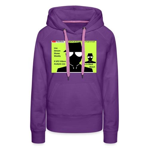 Mib 2 Men with Back Crew Logo - Women's Premium Hoodie