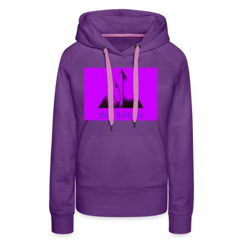 Purple Logo 2 - Women's Premium Hoodie