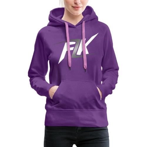 Flash (White) - Women's Premium Hoodie