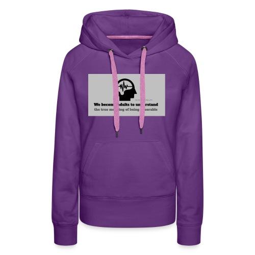 Miserable adulthood - Women's Premium Hoodie