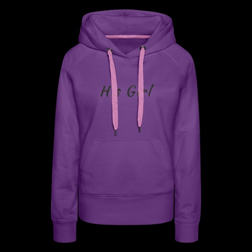 His Girl - Women's Premium Hoodie