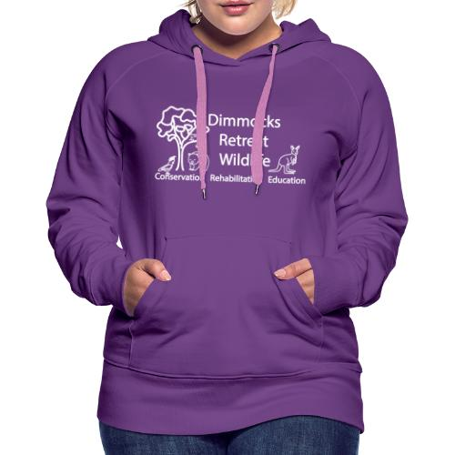 Dimmocks Retreat Wildlife Logo Apparel - Women's Premium Hoodie