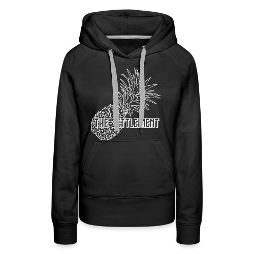 Pineapple with Band Name | The Settlement - Women's Premium Hoodie