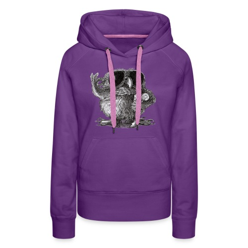 Cool Owl - Women's Premium Hoodie