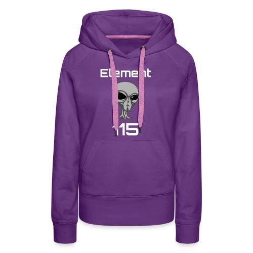 Element 115 Moscovium Alien Fuel - Women's Premium Hoodie