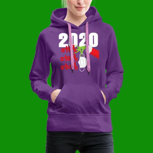 2020 Stink Stank Stunk Christmas - Women's Premium Hoodie