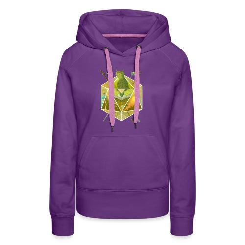 D20 Wizard - Women's Premium Hoodie