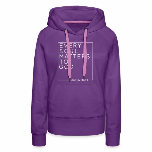 ESMTG White - Women's Premium Hoodie